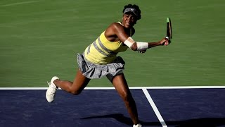 WTA R16 Highlights: Venus Williams d. Peng Shuai