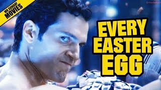 JUSTICE LEAGUE - Unknown Easter Eggs, Cameos & Post Credits Scenes
