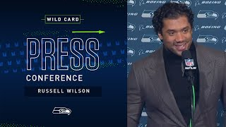 Russell Wilson Postgame Press Conference at Eagles   2019 Seattle Seahawks