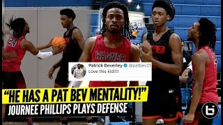 """He's the Patrick Beverly of High School Basketball!"" Journee Phillips Locks Up!"