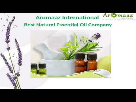 Best and reputable essential oil's company