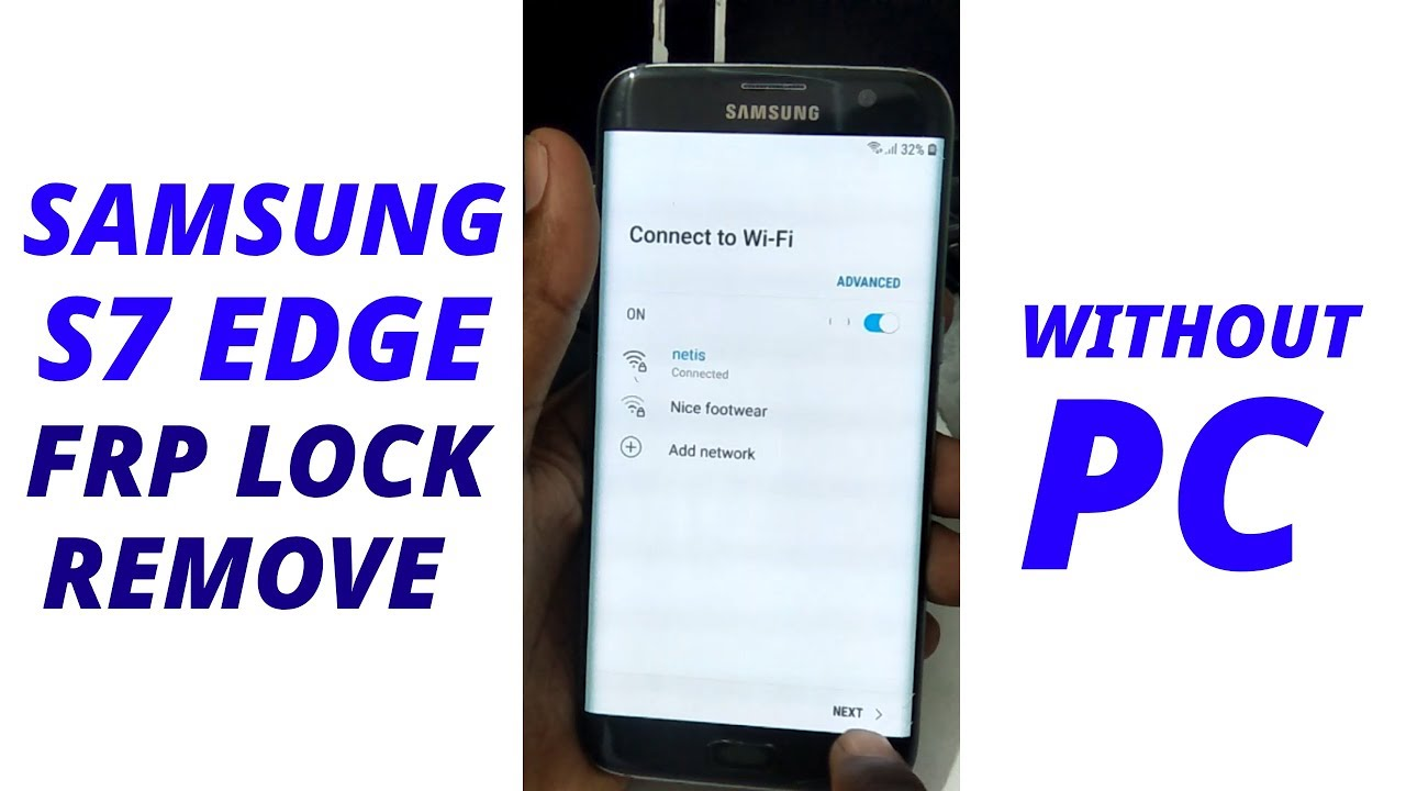 Tube Reader | SAMSUNG Galaxy S8 FRP-Google Lock Bypass