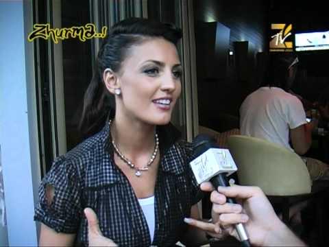 Genta Ismajli (2) Intervista 'ZICO TV'