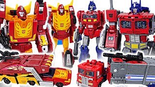 Transformers Generations Power of the Primes Optimus Prime, Rodimus Prime! Go! - DuDuPopTOY