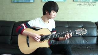 (Yiruma) River_Flow_in_You - Sungha Jung (Classical Guitar)