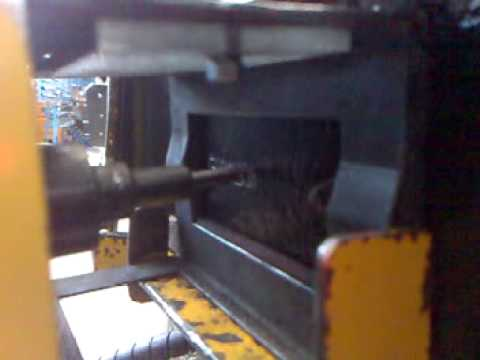 Marcatura a micropunti di un telaio trattore