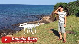 DJI Phantom 4 - Trung Tô hết hồn khi thử tính năng tránh vật cản Flycam! ✔