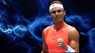 When Rafael Nadal unleashed his power on hard courts.