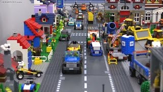 """OLD Video! Updates on my channel! Second LEGO city layout """"Mellemby"""" FINAL update!"""