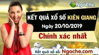 KQXS Kiên Giang 20/10/2019 - SXKG - XSKG - KQXSKG - Kết quả xổ số kiến thiết Kiên Giang hôm nay CN
