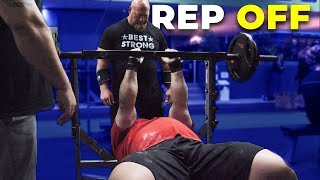 BENCH PRESS REP COMPETITION WITH EDDIE HALL, ROBERT OBERST & NICK BEST