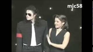 Michael Jackson & Lisa Marie - IL Bacio - MTV 1994 (sub Ita)