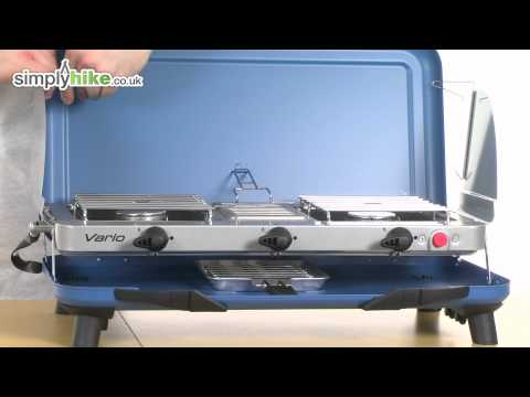 video Campingaz Chef Vario – Two burners plus grill