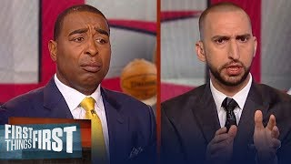 Nick Wright on Carmelo Anthony accepting a lesser role to play in Houston | NBA | FIRST THINGS FIRST