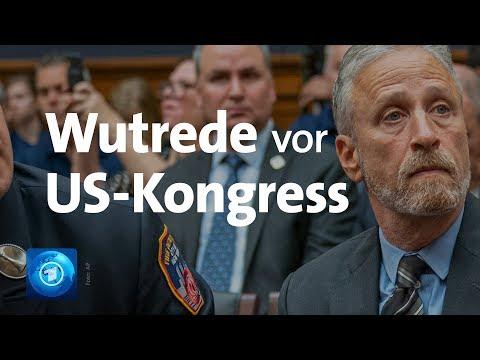 Erkrankte 9/11-Ersthelfer: Wutrede von US-Comedian Jon Stewart vor dem Kongress