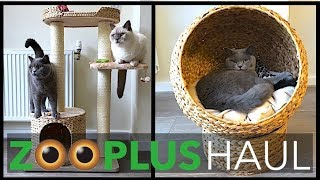 CAT PRODUCT HAUL FROM ZOOPLUS!