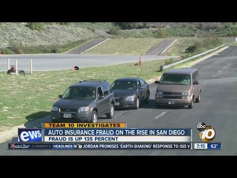 Auto insurance fraud on rise in San Diego County