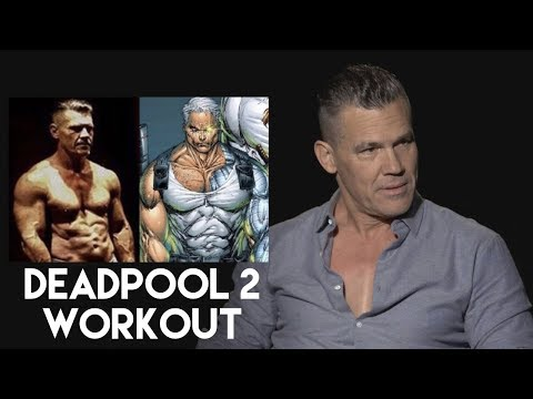 Josh Brolin on his DEADPOOL 2 Workout and Diet to play CABLE