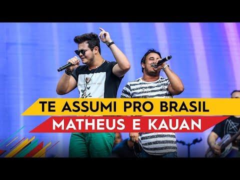Te Assumi Pro Brasil (Ao Vivo)