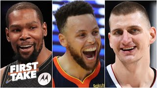 Is Steph Curry the NBA's greatest offensive player? Stephen A. and Max debate | First Take