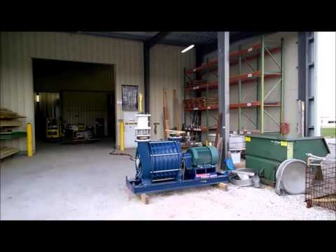 Used 75  HP Spencer Power Mizer Multi-stage Centrifugal Blower Model C3741a1