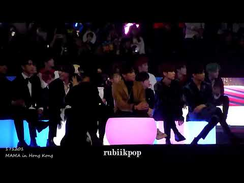 171201 MAMA - Ailee Perf Reaction: SuJu, Day6, Vernon, NCT127, Got7, BTS, Jooheon, Sunmi