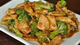 Wok Cooking Stir-fry Chicken with Broccoli Recipe / World of Flavor