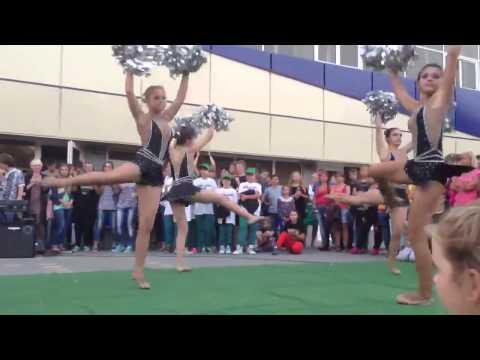 Выступление одесских черлидеров в Ильичевске