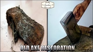 Rusty Old Axe Restoration