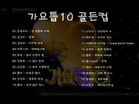 가요톱10 골든컵 수상곡 (1990년대) vol.2