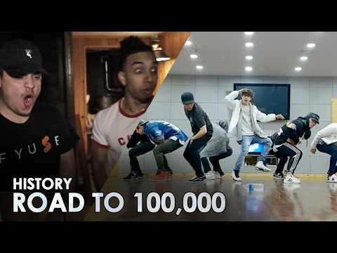 HISTORY 히스토리 - QUEEN [ DANCE PRACTICE ] REACTION VIDEO #RoadTo100K