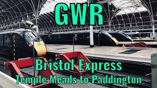 GWR Bristol Express (Bristol Temple Meads to London Paddington) - DRIVERS EYE VIEW