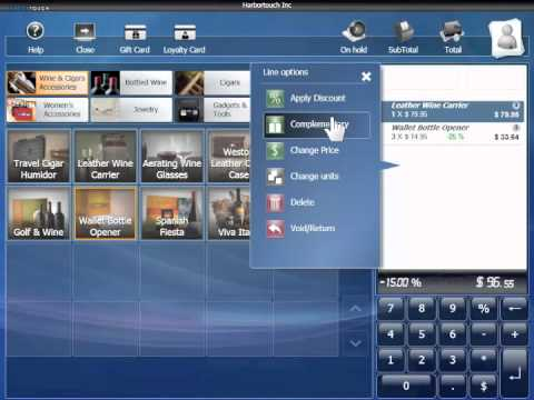 Retail POS Software Example