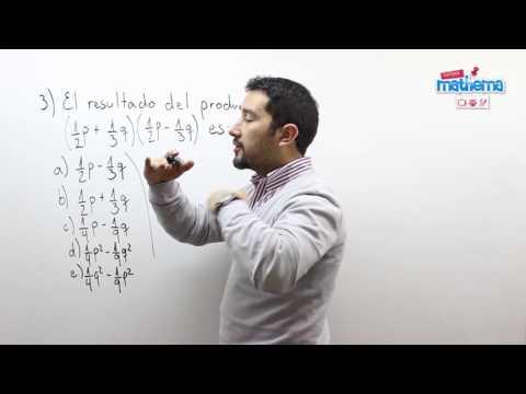 Prueba de algebra 6