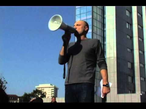 Fjala e Visar Ymerit në protestën kundër dhunës qeveritare dhe brutalitetit policor