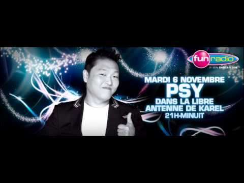 Psy's interview @ Fun (FM Radio Station)