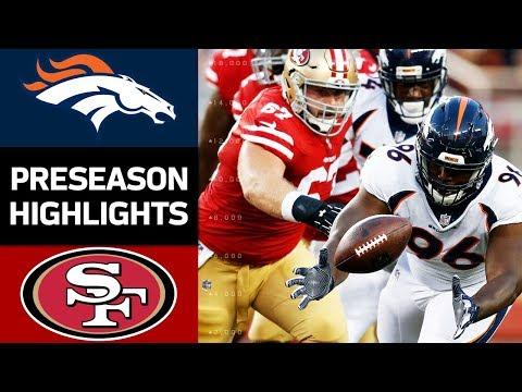 San Francisco 49ers vs Denver Broncos