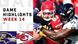 Ravens vs. Chiefs Week 14 Highlights | NFL 2018
