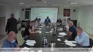 XV sesja nadzwyczajna Rady Gminy Brzuze