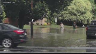 Flooding problems in Virginia Beach