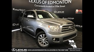 Used Silver 2008 Toyota Sequoia Limited Review - Fort McMurray, AB, Canada