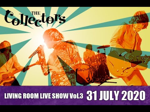 """THE COLLECTORS streaming rock channel """"LIVING ROOM LIVE SHOW"""" Vol.3 trailer"""