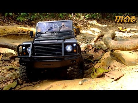 RC4WD G2, GMADE Sawback, SCX10 Jeep & LandRover in The Venus Trail