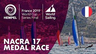 Nacra 17 Medal Race | Hempel World Cup Series Final Marseille 2019
