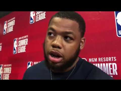 Omari Spellman discusses Steph Curry, Klay Thompson, Warriors in 1st interview since being traded