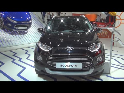 Ford EcoSport Titanium 1.0 EcoBoost 92 kW 5MT Start&Stop (2016) Exterior and Interior in 3D