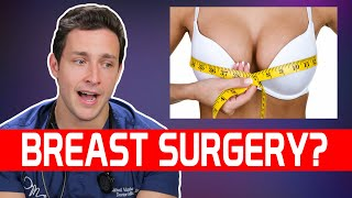 My Thoughts on Breast Reduction? | Responding to Your Comments #8 | Doctor Mike