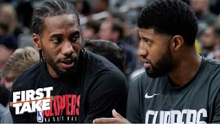 Kawhi preaches patience to the Clippers – Stephen A. and Max react | First Take