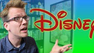 """Why is the Disney """"D"""" So Weird?"""