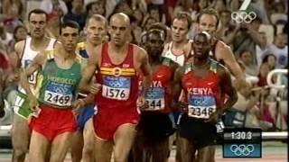 Hicham El Guerrouj wins Athens Gold 1500m